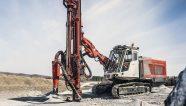 Trabajos mejorados en superficie con la perforadora de Sandvik