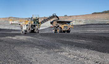 Mineración de altura en Australia con Wirtgen