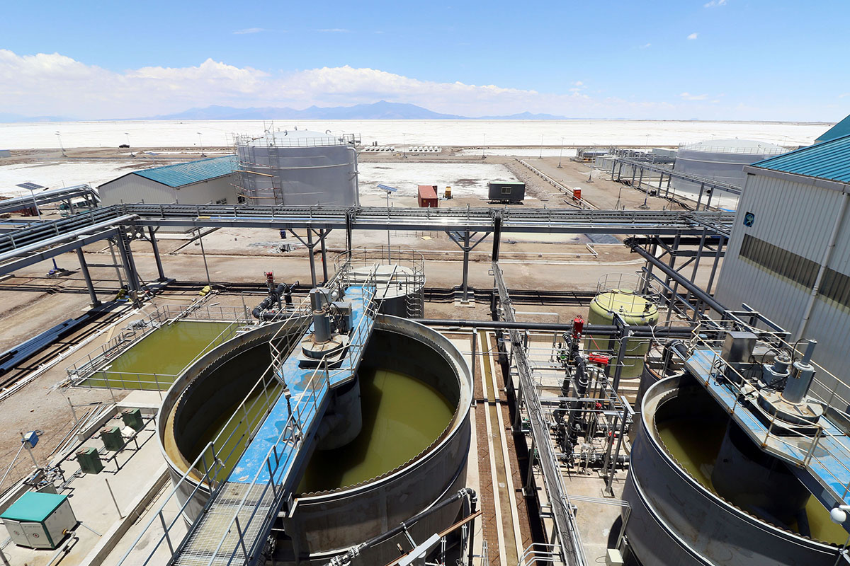 Resultado de imagen para BOLIVIA PROYECTA CONSTRUIR PLANTAS DE sulfato calcio