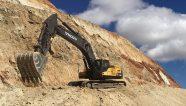 Las excavadoras Volvo ayudan a la minería de plomo