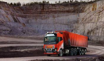 [Video] Un camión Volvo autónomo opera en una mina noruega