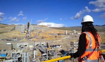 Proyecto Constancia en Perú, a gran altitud