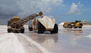 Una mina de sal amigable con el medio ambiente
