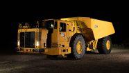 Caterpillar presenta nuevo camión subterráneo