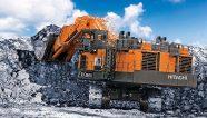 La excavadora Hitachi EX5600-7 proporciona un excelente rendimiento y eficiencia de combustible