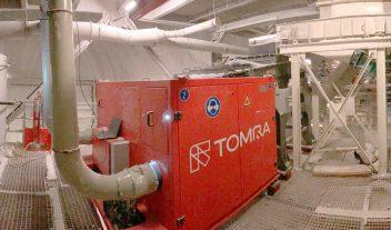 Empieza a funcionar la primera clasificadora Tomra instalada bajo tierra en la mina de sal de roca K+S