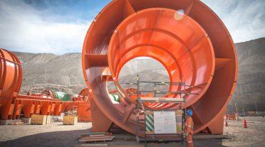 Ventilación en faenas mineras